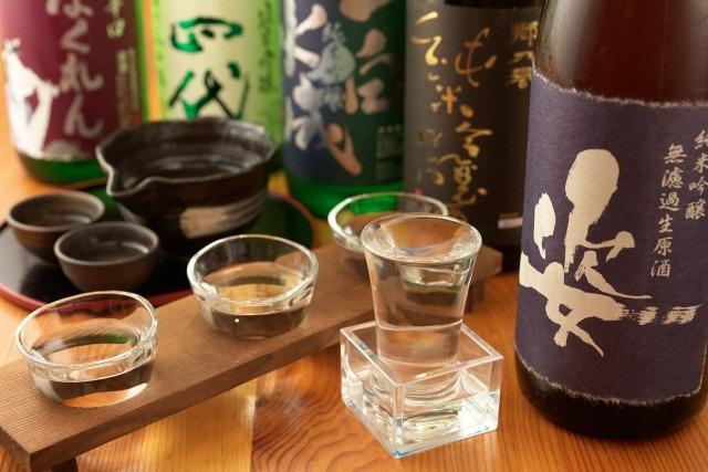 色んな種類の日本酒